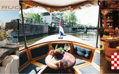 Bezoek aan Amsterdam met rondvaart